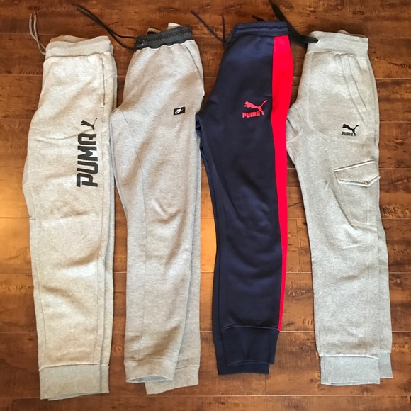 Nike Other - Lot of 4 Fleece Jogger Swearpants